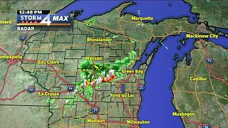 Brian Niznansky's Wednesday afternoon Storm Team 4cast Live at Summerfest - Video