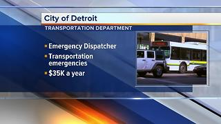 Workers Wanted: City of Detroit needs employees for its transportation department