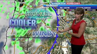 Cooler, unsettled conditions over the next several days - Video