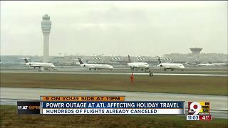 How will ATL power outage affect local flights? - Video