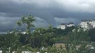 Possible Funnel Cloud Spotted During Severe Storms in Kiryas Joel - Video