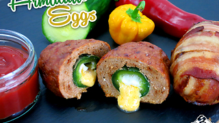 How to make armadillo eggs - Video
