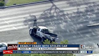 Driver of stolen truck facing charges after fatal crash - Video