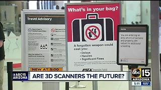 Sky Harbor is testing out 3D scanners to save time for passengers - Video