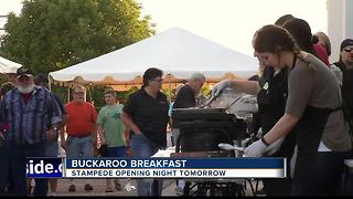 Buck-a-roo breakfast - Video