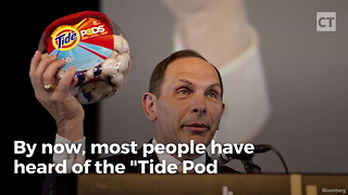 "News Anchor Lays Down the Facts on ""Tide Pod Challenge"" - Video"