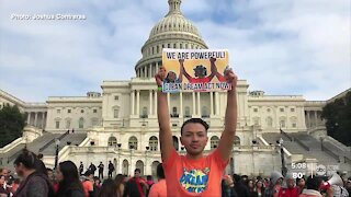 Latino 'dreamer' shares relief and worries of Biden win