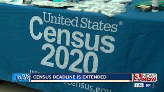 Census Deadline Is Extended