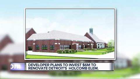 Vacant Detroit elementary school to be turned into senior apartments, park