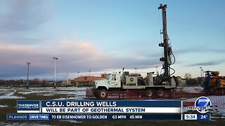 CSU drilling wells for geothermal energy