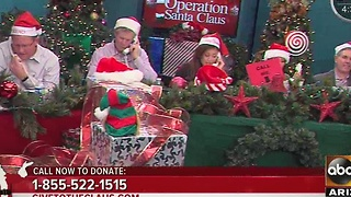 Donate to Operation Santa Claus - Video