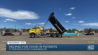 Project underway to help fly Navajo Nation patients to New Mexico