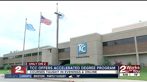 TCC offers accelerated degree program