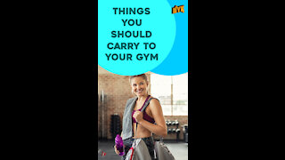Top 4 Essential Things You Should Carry To Your Gym