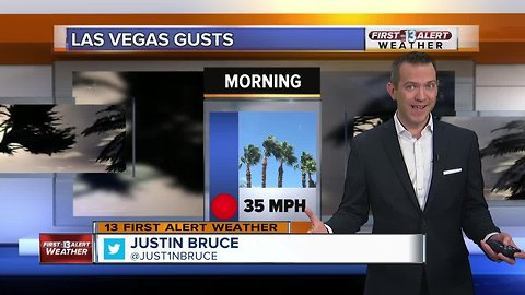 13 First Alert Las Vegas weather updated January 22 morning