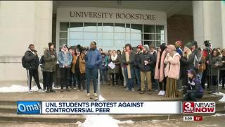 UNL students hold rally after video of white nationalist student surfaces - Video