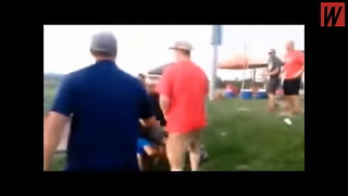 Watch: Softball Tournament Completely Devolves Into Chaos As Parents Spark Wild Melee - Video