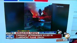 Torrance veterinarian killed in Clairemont plane crash - Video