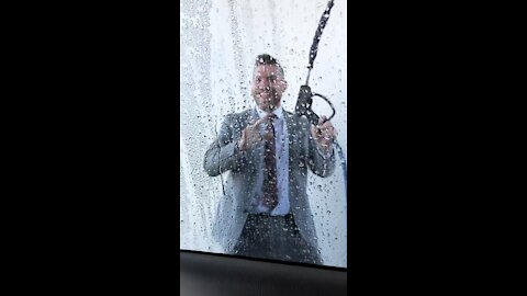Man does a Magic Mike dance in a Car Wash