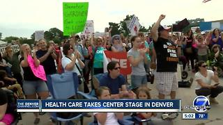 Health care takes center stage in Denver - Video