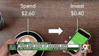 Pros and cons of savings apps