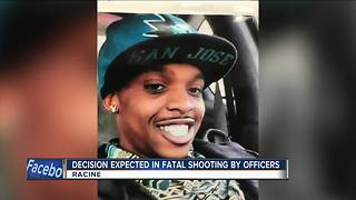 Decision expected in fatal shooting by Racine officers - Video