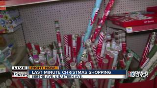 Las Vegas stores that are still open Christmas Eve - Video
