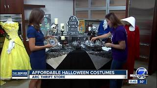 Arc thrift store Halloween - Video