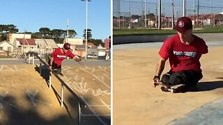 MOTIVATIONAL PROFESSIONAL SKATEBOARDER DEFIES THE ODDS AFTER LOOSING LEGS IN HORRIFIC TRAIN ACCIDENT