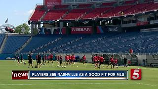Nashville Preps For Gold Cup With MLS Watching - Video