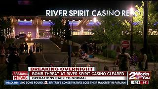 Bomb threat against River Spirit Casino forces evacuation - Video
