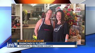 Good morning from Raimondi's Florist in Parkville - Video