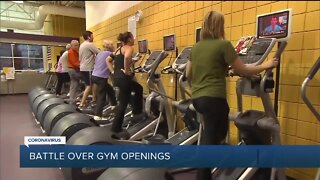 Governor Whitmer appeals order allowing Michigan gyms to reopen later this week