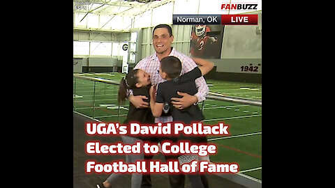 UGA's David Pollack Elected to College Football Hall of Fame