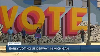 Voting begins in Michigan for November 3rd election, runs for 40 days