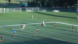 Great Ass-ist! College Soccer Player Scores Goal With Her Behind - Video
