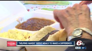 Helping Hands women's group serves meals to those in need - Video