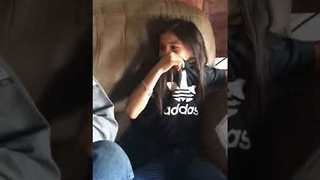 Heartwarming Moment Daughter Surprises Step-Dad with Adoption News - Video