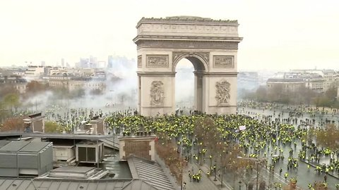 Protests In France Over Rising Fuel Costs Continue For Third Week
