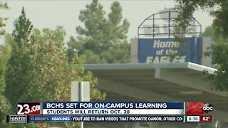 BCHS President John Buetow talks about reopening the campus