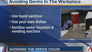 Avoiding the office colds - Video