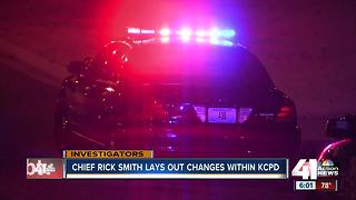 New KCPD chief outlines new direction, wants more officers on streets - Video