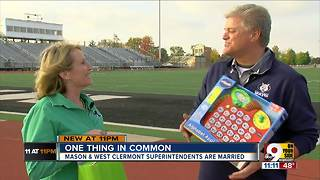 Married superintendents rivals in playoffs - Video