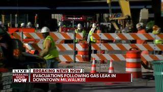 Public Market Evacuated Due To Gas Leak - Video