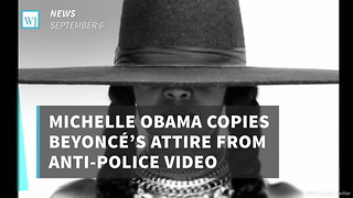Michelle Obama Copies Beyoncé's Attire From Anti-Police Video