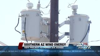 Tucson Electric plans wind energy project to power 31k homes - Video