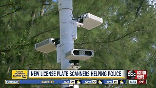 License plate readers installed in Holmes Beach, helping police