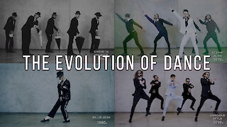 Dance Crew Demonstrates The Evolution Of Dance (1950 - 2019)