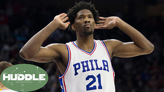 Joel Embiid Just Got PAID! Good Move By the Sixers? -The Huddle - Video