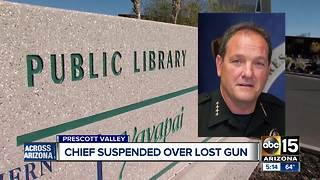 Prescott Valley police chief suspended - Video